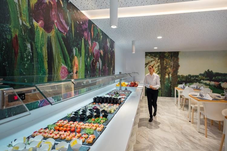 Ресторан-буфет villa luz family gourmet & all exclusive Отель плая-де-гандия